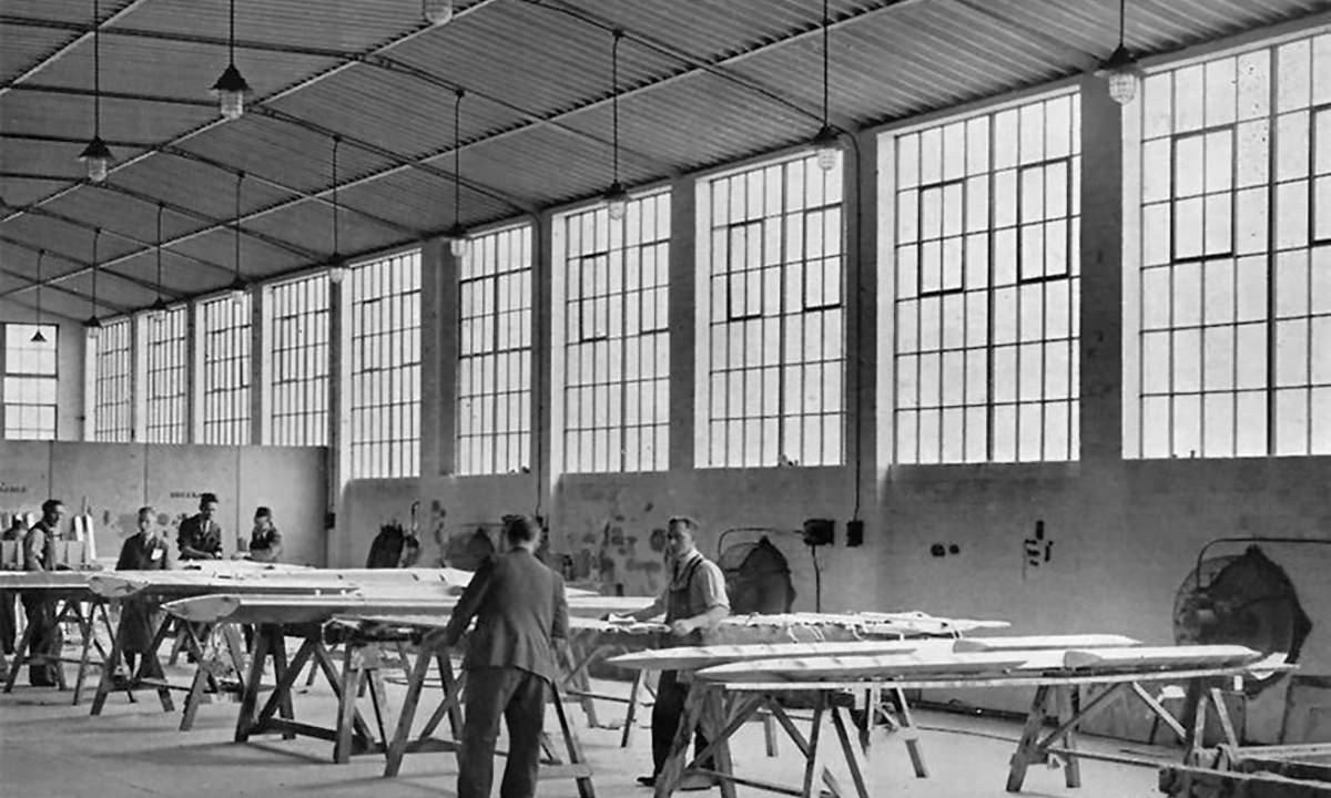 Gloucester Aircraft Works inside