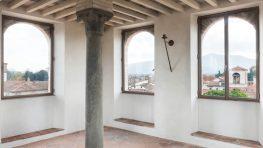 renovación de la torre medieval